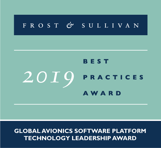 Frost & Sullivan Technology Leadership Award: Avionics Software Platform
